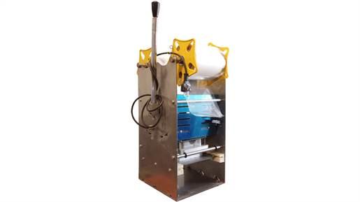 دستگاه سیل لیوانی تمام دستی استیل قطر 75 یا 95