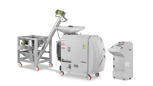 خط تولید روغن کشی زیتون مدل 200 کیلوگرم