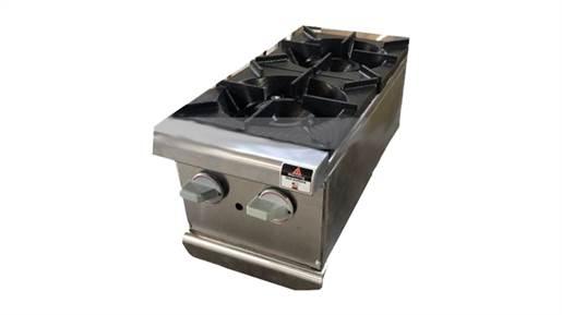دستگاه اجاق دوشعله رومیزی