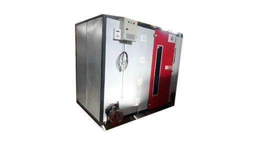 دستگاه میوه خشک کن و سبزی خشک کن صنعتی 140 سینی گازی مدل AS400