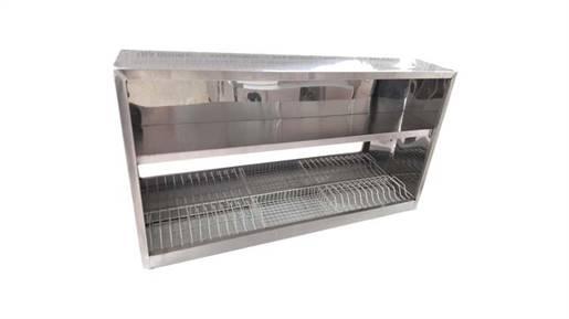 کابینت آشپزخانه صنعتی با آبچکان توری معمولی