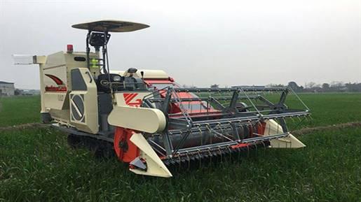 کمباین برنج مدل SU-TRUCK