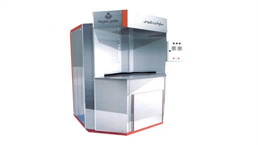 فردوار نیمه اتوماتیک حرارت غیر مستقیم تشعشعی مدل 2000