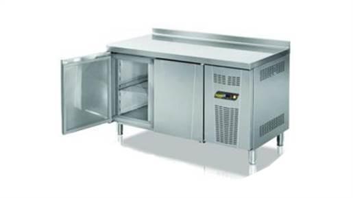 یخچال میز کار ۱۵۰ سانتی کنار دیواری انداستریو