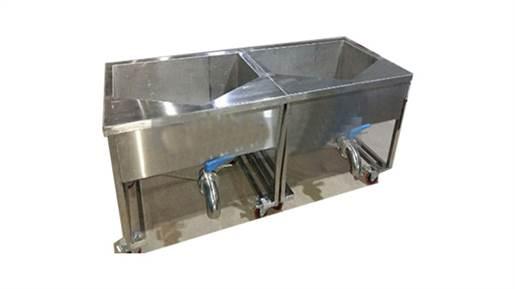 دستگاه پاتیل شستشوی برنج و سبزی