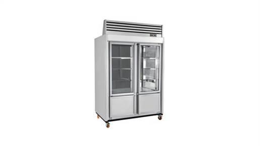 یخچال ایستاده کبابی ۱5۰ دو درب با استیل بگیر
