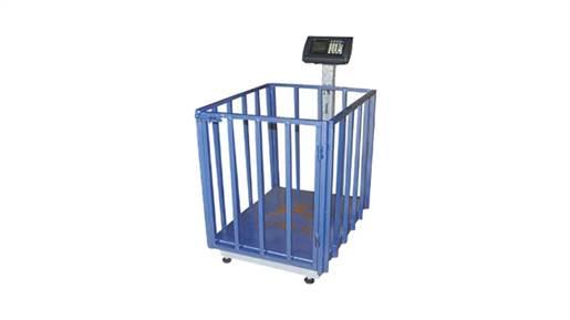 دستگاه باسکول 350 کیلویی قفس دار