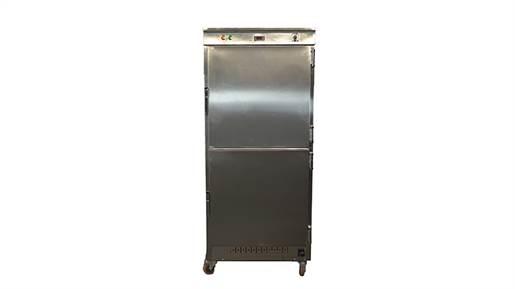 گرمکن غذا بزرگ 100 نفره گازی با کنترل پنل دیجیتالی مدل GKG23