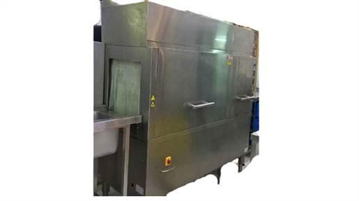 ماشین ظرفشویی اتوماتیک ریلی ۲۲۰۰ بشقاب در ساعت ساده
