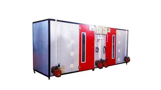 دستگاه میوه خشک کن و سبزی خشک کن 280 سینی گازی مدل AS500