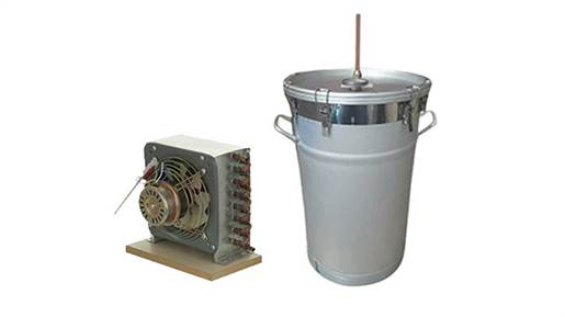 دستگاه تقطیر و دستگاه عرق گیری سطلی 35لیتری با کنداسور برقی و بدون ترمومانومتر