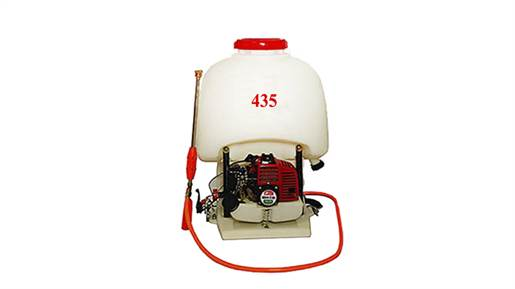 سمپاش پشتی موتوری مدل 435