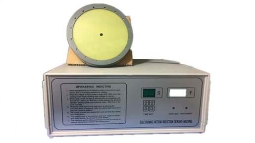 دستگاه سیل القایی ظروف گرد 1200 وات با دهانه ی 5 تا 15 سانتی متر مدل 21541