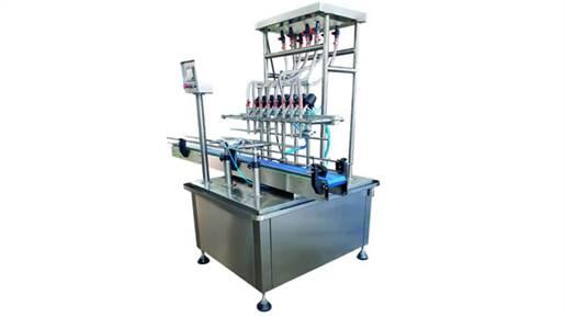 دستگاه پرکن مایعات رقیق اتوماتیک ثقلی خطی مدل 21722