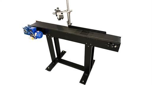 جت پرینتر صنعتی مدل  DCN 150A plus به همراه نوار نقاله و کارتریج اچ پی