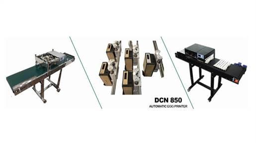 جت پرینتر تخم مرغ 5 هد مدل DCN860
