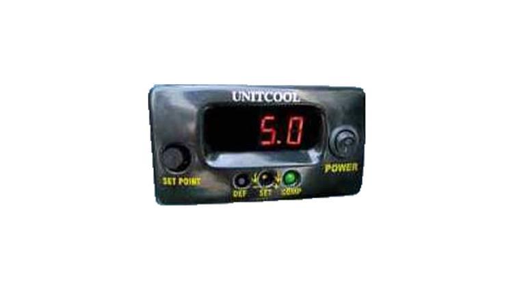 ترمومتر دمای دیجیتال داخل کابین راننده