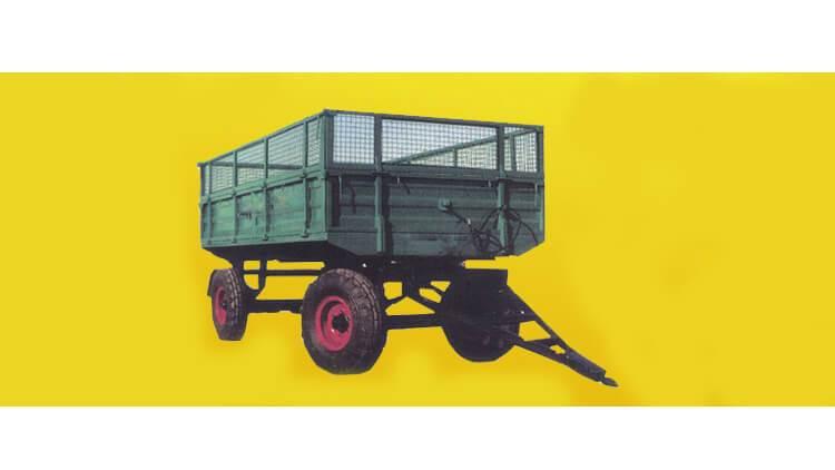 تریلی کشاورزی 4چرخ تور دار