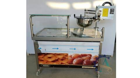 دستگاه دونات زنی و پخت پیراشکی
