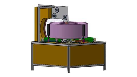 دستگاه کویل پیچ اجسام حلقه ای