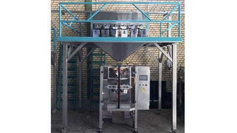 دستگاه بسته بندی شش توزین حبوبات و خشکبار