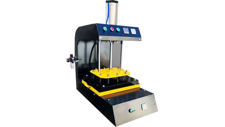 دستگاه برجسته زن تک میز پنوماتیک مدل SP1T2E