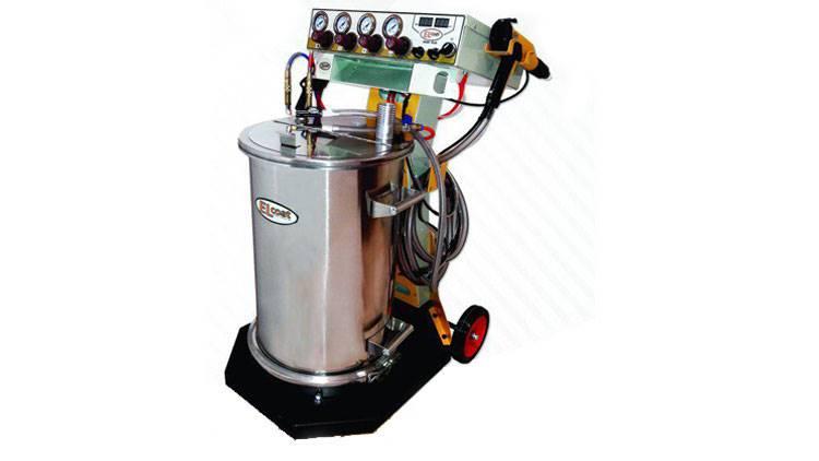 دستگاه پاشش پودری ELCOAT سری زیگما پلاس