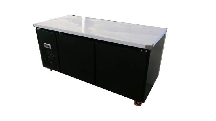 یخچال روی میز کار بدنه رنگی 190