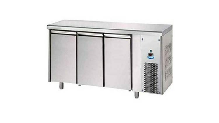 یخچال میز کار استیل نگیر 190