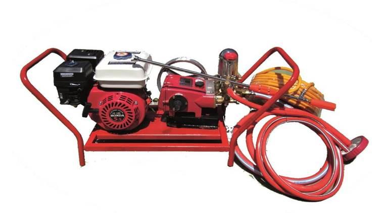 سمپاش زنبه ای با الکتروموتور تکفاز ۳ اسب و پمپ وولی تایوان مدل 16699
