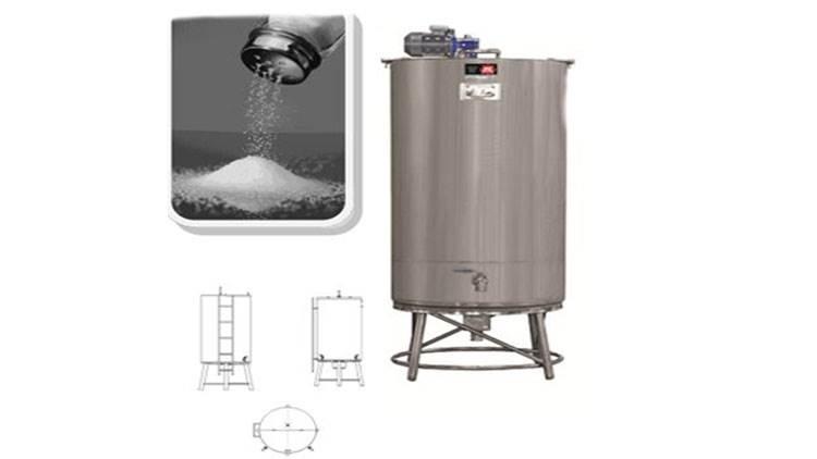 تانکر ذخیره آب و نمک 300