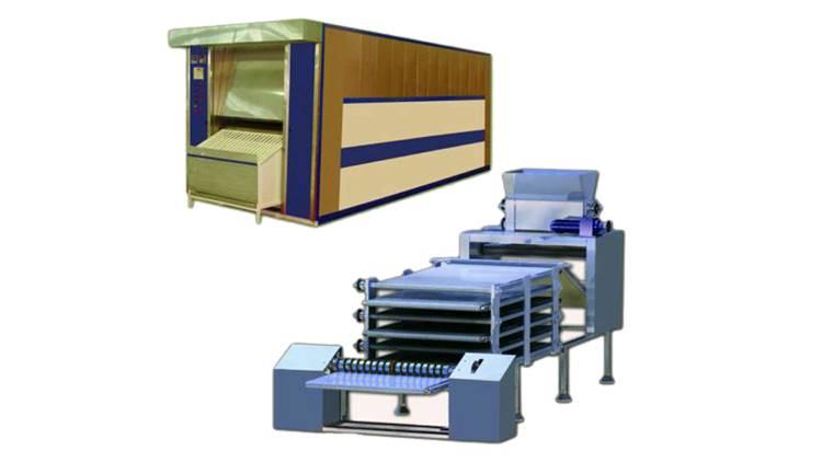 فر تونلی اتوماتیک مخصوص پخت نان خشک بلوری مدل 1000