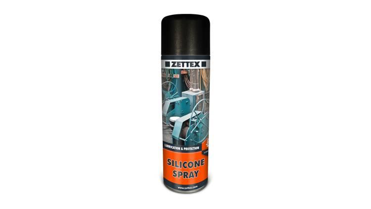 اسپری روان کننده silicone spray زتکس