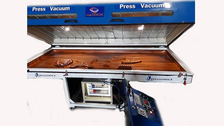 دستگاه پرس وکیوم صندوقی