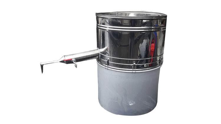 دستگاه عرق گیری لوله بلند دو جداره عرق سرد کن دار 120 لیتری