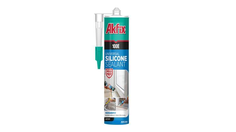 چسب 100E آکفیکس 280ml(شفاف، سفید، مشکی)