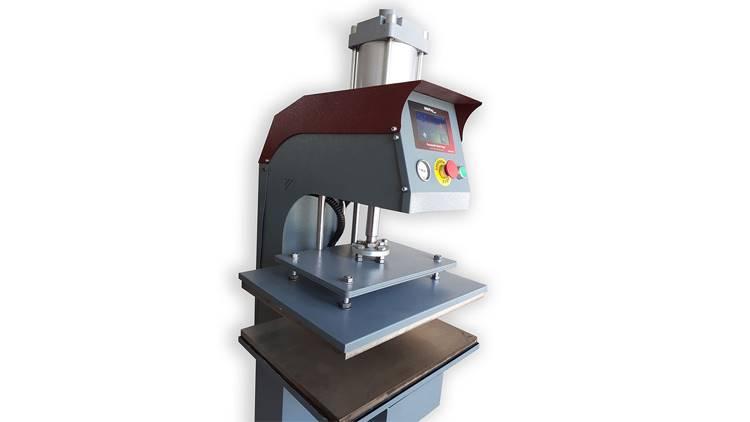 دستگاه پرس حرارتی اتوماتیک دو طرف حرارت