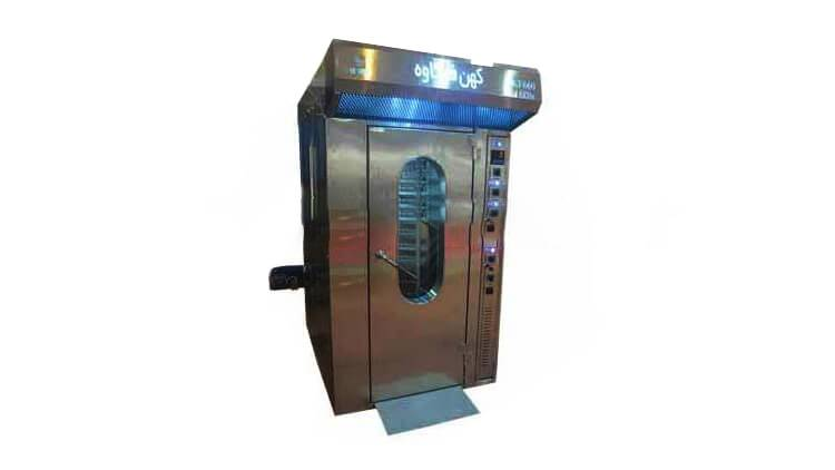 دستگاه فر گردان 16 سینی مدل KF660