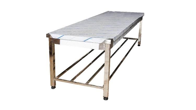 میز کار 150 سانتی با صفحه پلی اتیلن