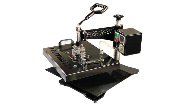 دستگاه چاپ پارچه چرخشی دستی چندکاره RMX 2019