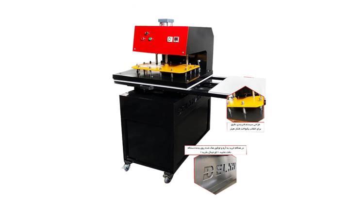 دستگاه چاپ پارچه پنوماتیک دو میزه تیپ 2 مدل SP2T2 2019