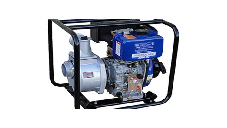 دستگاه موتور پمپ آب دیزلی ۴ اینچ هندلیAD100-30