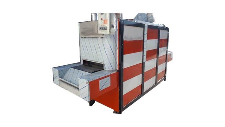 دستگاه فر تونلی پخت نان بربری و نان روغنی