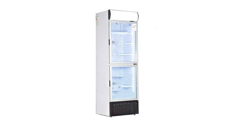 یخچال ویترینی دو درب کینو مدل KR615-2D