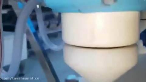 دستگاه پرکن و در بند روتاری مواد اسیدی
