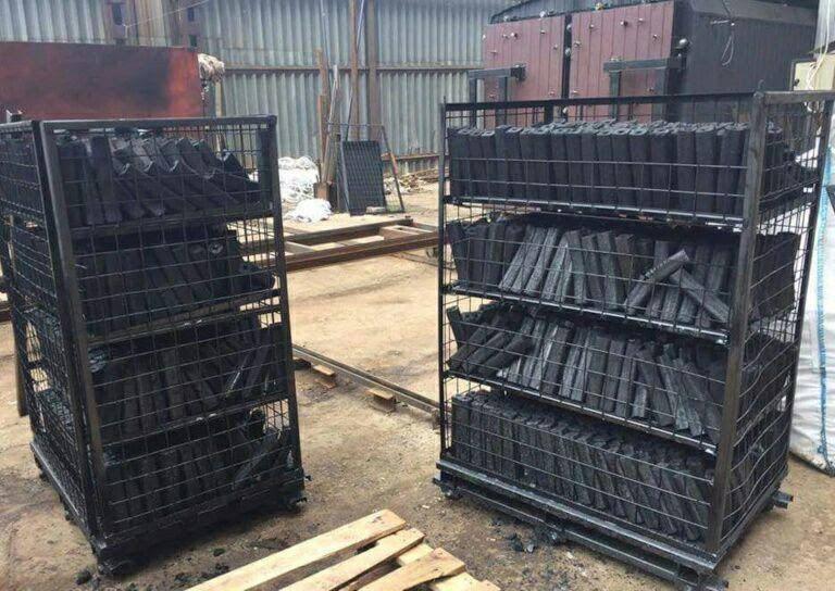 خط تولید زغال فشرده چینی کوره سنتی