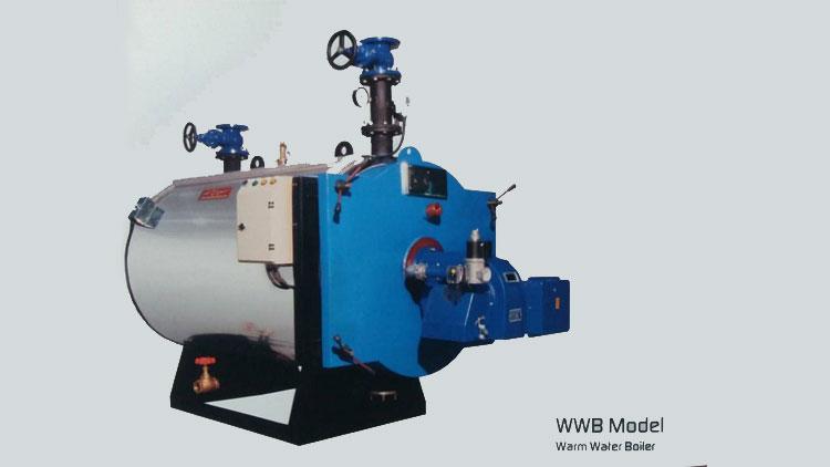دیگ آب گرم مدل WWB , دیگ آب گرم و آب داغ