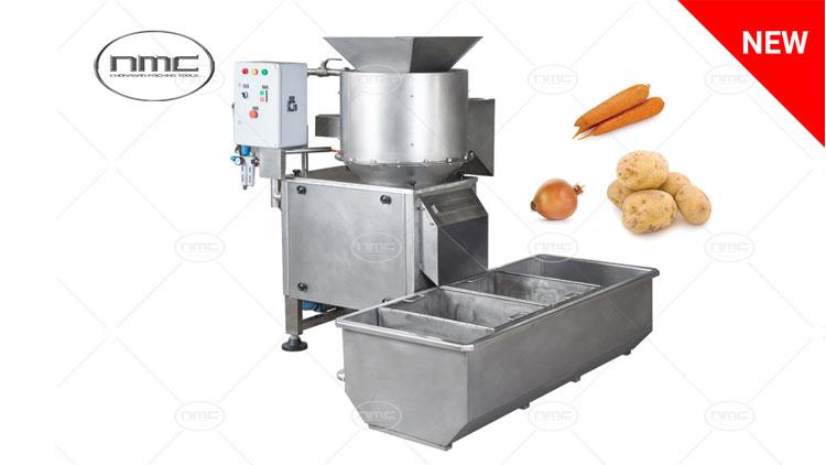 دستگاه پوست گیری اتوماتیک هویج ، سیب زمینی ، پیاز مدل  KPT 4009