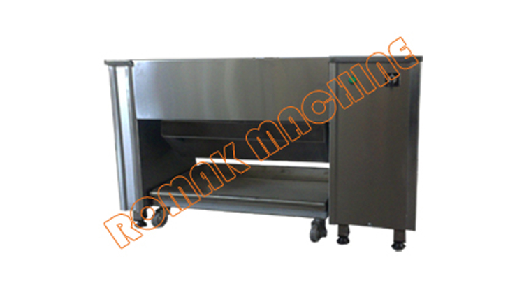 دستگاه سیخ شوی صنعتی مدل حلزونی مدل SS01-N