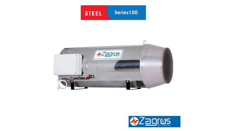جت هیتر سری ۱۰۰ گازسوز _ گازوئیل سوز _ دوگانه سوز  , سیستم گرمایشی گلخانه